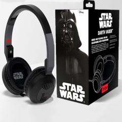 Ce casque élégant, beau et très pratique vous permettra d'écouter vos musiques préférées avec le pouvoir de la force. Il intègre un micro ainsi qu'une télécommande (au niveau du câble) afin de pouvoir converser avec l'empire.