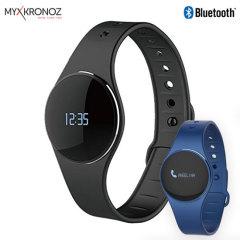 Cette smartwatch et tracker d'activité MyKronoz ZeCircle est un hybride. De qualité supérieure, elle prend en charge les notifications et dispose d'une interface circulaire attrayante et élégante. Suivez vos objectifs de fitness et vie sociale en même temps grâce à cet accessoire parfaitement utile au quotidien.