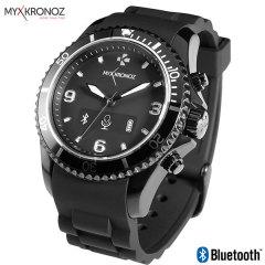 La Smartwatch MyKronoz ZeClock fusionne le design analogique classique avec la fonctionnalité de la smartwatch moderne. Vérifiez les notifications, recevez et rejeter les appels, surveillez le nombre de pas et bien plus encore grâce à l'application gratuite, compatible avec iOS et Android.
