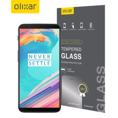 This ultra-thin tempered glass screen protector for the OnePlus 5T from Olixar offers toughness, high visibility and sensitivity all in one package.