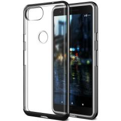VRS Design Crystal Bumper Google Pixel 2 Case - Metallic Black