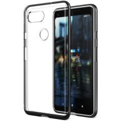 VRS Design Crystal Bumper Google Pixel 2 XL Case - Metallic Black