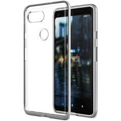 VRS Design Crystal Bumper Google Pixel 2 XL Case - Satin Silver
