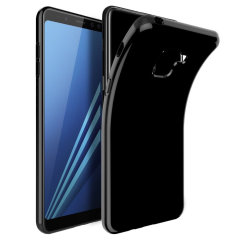 Olixar FlexiShield Samsung Galaxy A5 2018 Gel Hülle in Solid Schwarz