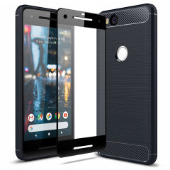 Olixar Sentinel Google Pixel 2 Case and Glass Screen Protector
