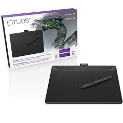 Wacom Intuos Pressure-Sensitive 3D Pen & Graphics Tablet Combo