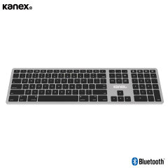 This sleek, slim keyboard from Kanex features ultra-high grade backlit keys and full iOS & macOS shortcuts for an accurate, ergonomic typing experience. Connect to up to 4 devices simultaneously via Bluetooth and switch between them on the fly.