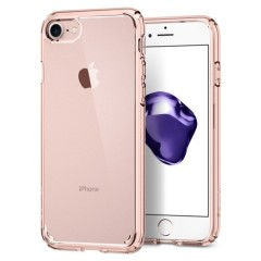Spigen Ultra Hybrid iPhone 8 /  iPhone 7 Case - Rose Crystal