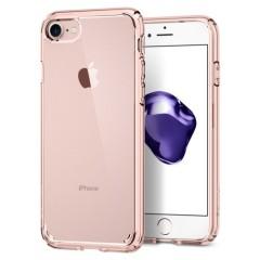Spigen Ultra Hybrid iPhone 8 / 7 Bumper Hülle in Rosenkristall