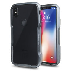 Luphie Incisive iPhone X Aluminium Metall Stoßhülle – Spacegrau