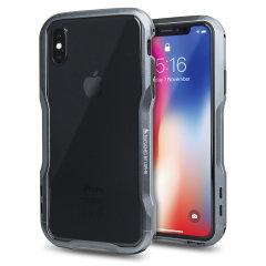 Luphie Incisive iPhone X Aluminium Metall Stoßhülle – Spacegrau