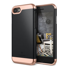 Caseology Savoy Series iPhone 8 / 7 Slider Case - Matte Black
