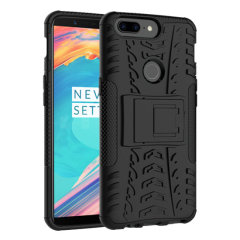 Protect your OnePlus 5T from bumps and scrapes with this black ArmourDillo case. Comprised of an inner TPU case and an outer impact-resistant exoskeleton, the Armourdillo not only offers sturdy and robust protection, but also a sleek modern styling.