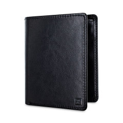 Protect your most valuable cards with this RFID-blocking wallet and card holder. This stylish leather-effect wallet is capable of holding between 5 and 7 cards, and features a document pocket for cash, important papers and much more besides.