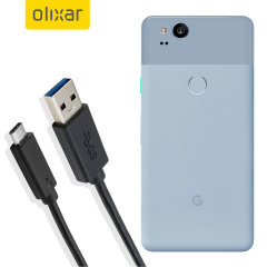 Mantenga su Google Pixel 2 cargado y sincronizado gracias a este cable USB-C de Olixar. Ideal para cargar con cualquier cargador de pared o de coche, o para sincronizar con un ordenador o portátil.