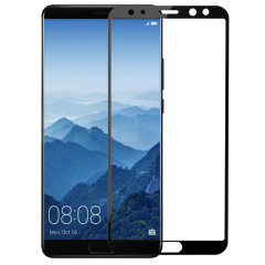 Keep your Huawei Mate 10 Pro's screen in pristine condition with this Olixar Tempered Glass screen protector, designed to fully cover the front of the phone. Black edges match the black phone perfectly.