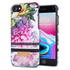 Ted Baker Linora iPhone 8 Soft Feel Shell Case - Painted Posie