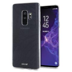 Op maat gemaakt voor de Samsung Galaxy S9 Plus, deze 100% heldere Ultra-Thin-hoes van Olixar biedt een slank passende en duurzame bescherming tegen beschadiging en voegt bijna niets toe wat betreft grootte en gewicht.