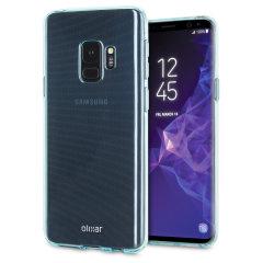 Olixar FlexiShield Samsung Galaxy S9 Gel Hülle in Blau