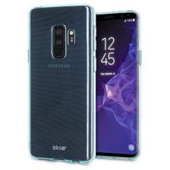 Olixar FlexiShield Samsung Galaxy S9 Plus Gel Hülle in Blau