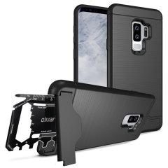 Olixar X-Ranger Galaxy S9 Plus Survival Case - Taktisches Schwarz
