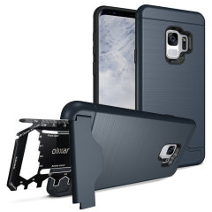 Olixar X-Ranger Samsung Galaxy S9 Survival Case - Marine Blau