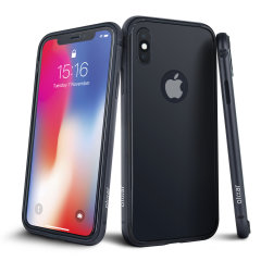 For those who want their iPhone X completely protected without using bulky cases and hiding their beautiful device. Featuring screen, back and camera tempered glass protectors and an aluminium bumper, the Olixar Helix is the complete 360 protection system