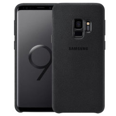 Official Samsung Galaxy S9 Alcantara Cover Case - Schwarz