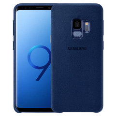 Official Samsung Galaxy S9 Alcantara Cover Case - Blue