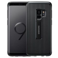 Official Samsung Galaxy S9 Protective Stand Cover Case - Black