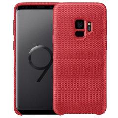 Official Samsung Galaxy S9 Hyperknit Cover Skal - Röd