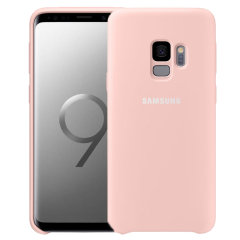 Official Samsung Galaxy S9 Silicone Cover Case - Rosa