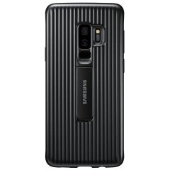 Official Samsung Galaxy S9 Plus Protective Stand Cover Case - Black