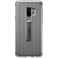 This Official Samsung Protective cover in silver is the perfect accessory for your Galaxy S9 Plus smartphone.