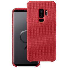 Protect your Samsung Galaxy S9 Plus with this Official Hyperknit case in red. Stylish and protective, this case is the perfect accessory for your Galaxy S9 Plus.