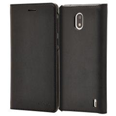 Prestigiosa protección y lujoso estilo clásico. Proteja la trasera, los costados y la pantalla de su Nokia 2 contra daños mientras mantiene su tarjeta más importante a mano con las ranuras de la tapa.