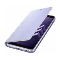 Proteja la espalda, laterales y pantalla de su Samsung Galaxy A8 2018 mientras tiene a mano sus tarjetas mas importantes gracias a esta funda tipo cartera en neon de Samsung.