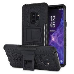 Olixar ArmourDillo Samsung Galaxy S9 Protective Deksel - Sort