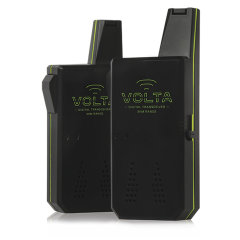Broadcast to one or multiple units with the ability to use 3 different channels. This compact walkie talkie set has all the features you'll need including 3km (2 mile) range, crystal clear signal , belt clip and robust casing. It even includes batteries