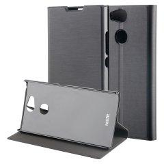 Roxfit Sony Xperia XA2 Ultra Schlanke Stehende Buchhülle - Schwarz