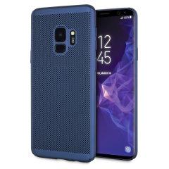 Olixar MeshTex Samsung Galaxy S9 Case - Blauw