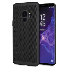 Olixar MeshTex Samsung Galaxy S9 Case - Tactical Black