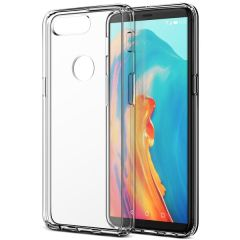 Protect your shiny new OnePlus 5T with this precisely designed crystal case from VRS Design. Made with a sturdy yet minimalist design, this see-through case offers protection for your phone while still revealing the beauty within.