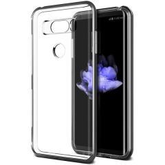 VRS Design Crystal Bumper LG V30 Skal  - Silver