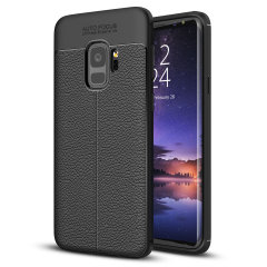 Olixar Attache Samsung Galaxy S9 Executive Shell Case - Black