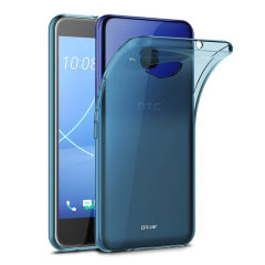 Custom moulded for the HTC U11 Life this blue FlexiShield case by Olixar provides slim fitting and durable protection against damage.