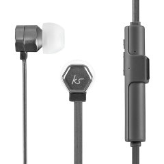Combining stylish aluminium gun metal casings, a comfortable fit with dynamic sound, in-line controls with mic for music and calls and wireless bluetooth support, the KitSound Hive Bluetooth Earphones are perfect for music lovers on the go.