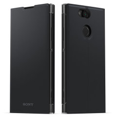 Official Sony Xperia XA2 Style Cover Stand Case - Black
