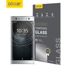Olixar Sony Xperia XA2 Ultra Tempered Glass Screen Protector