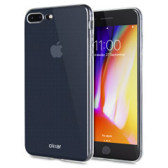 Coque iPhone 8 Plus Olixar Ultra Mince en gel – 100% Transparente